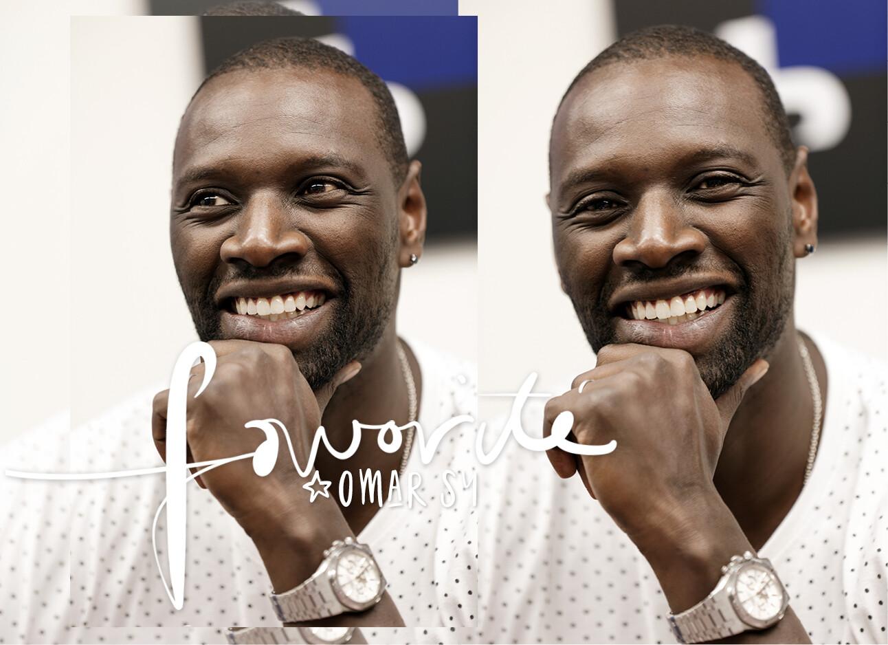 Omar Sy lachend