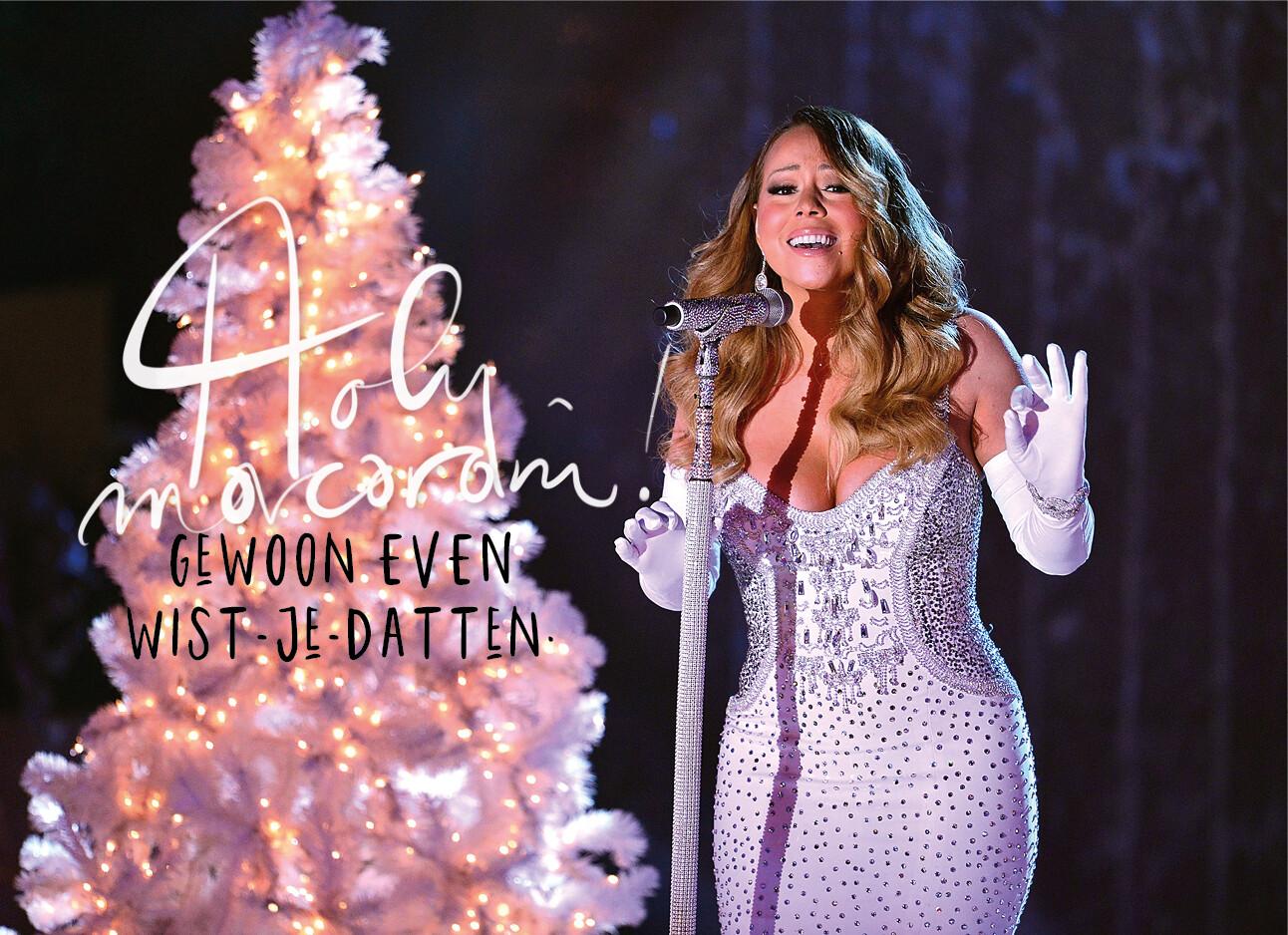 Mariah Carey kerstmuziek