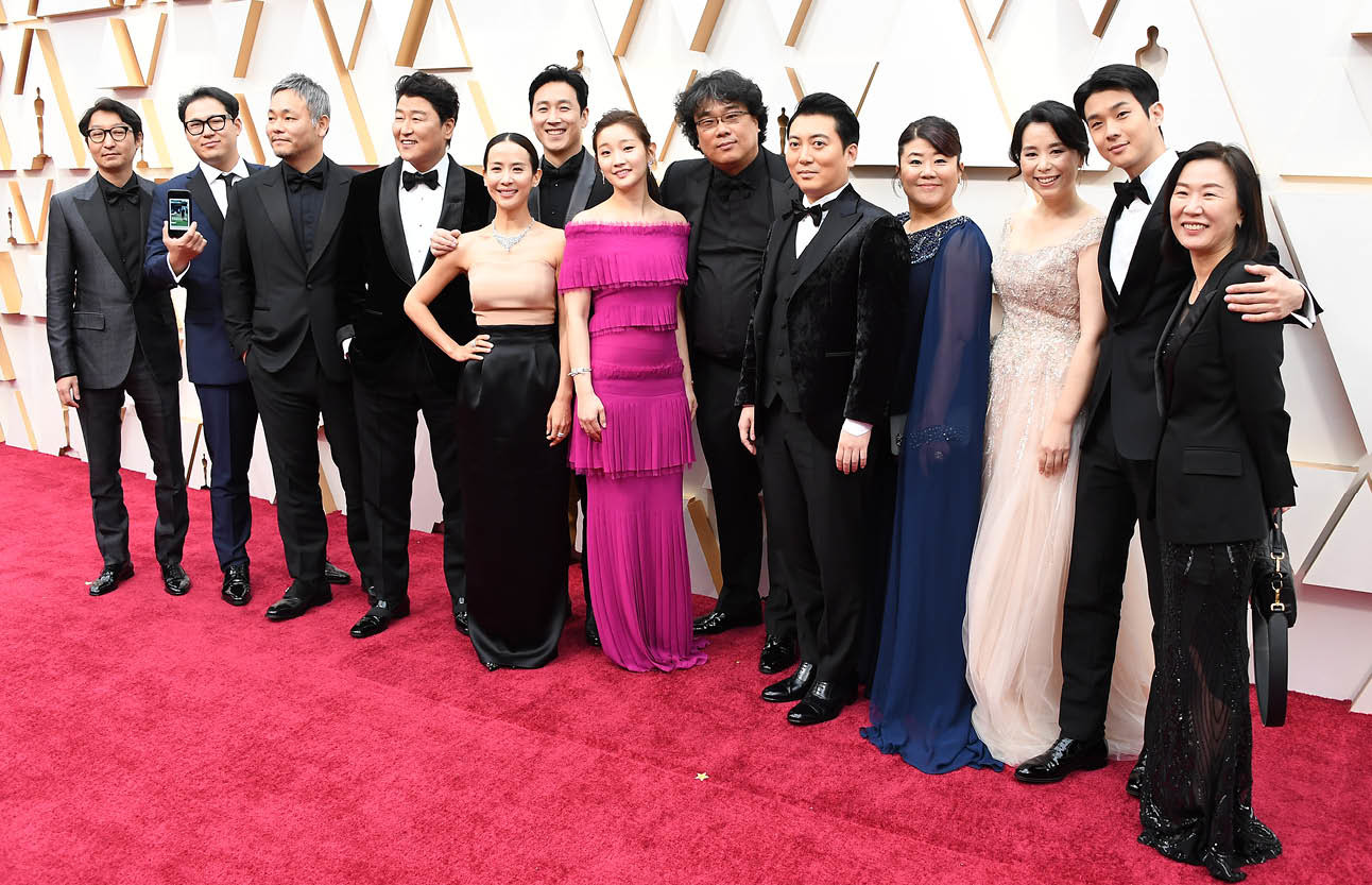 Oscars 2020 acteurs parasite