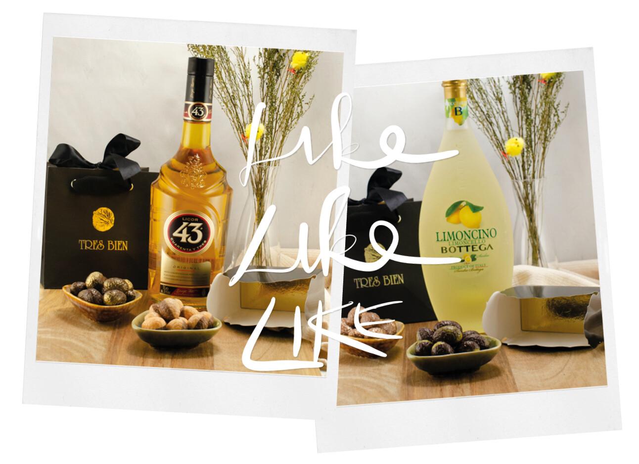 limoncello licor 43 eitjes