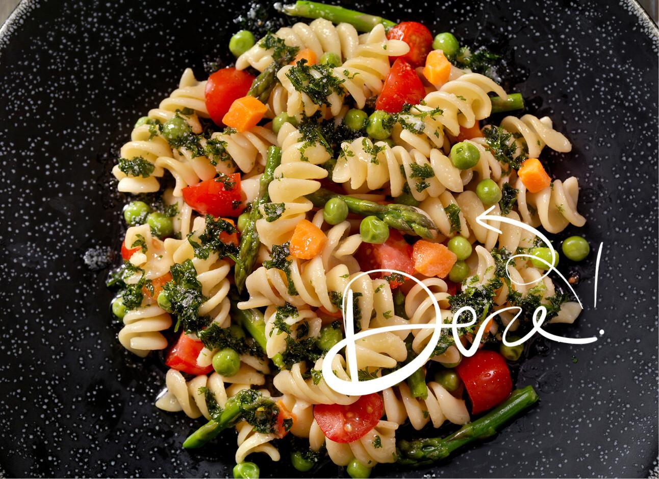 Een prima recept voor pasta primavera