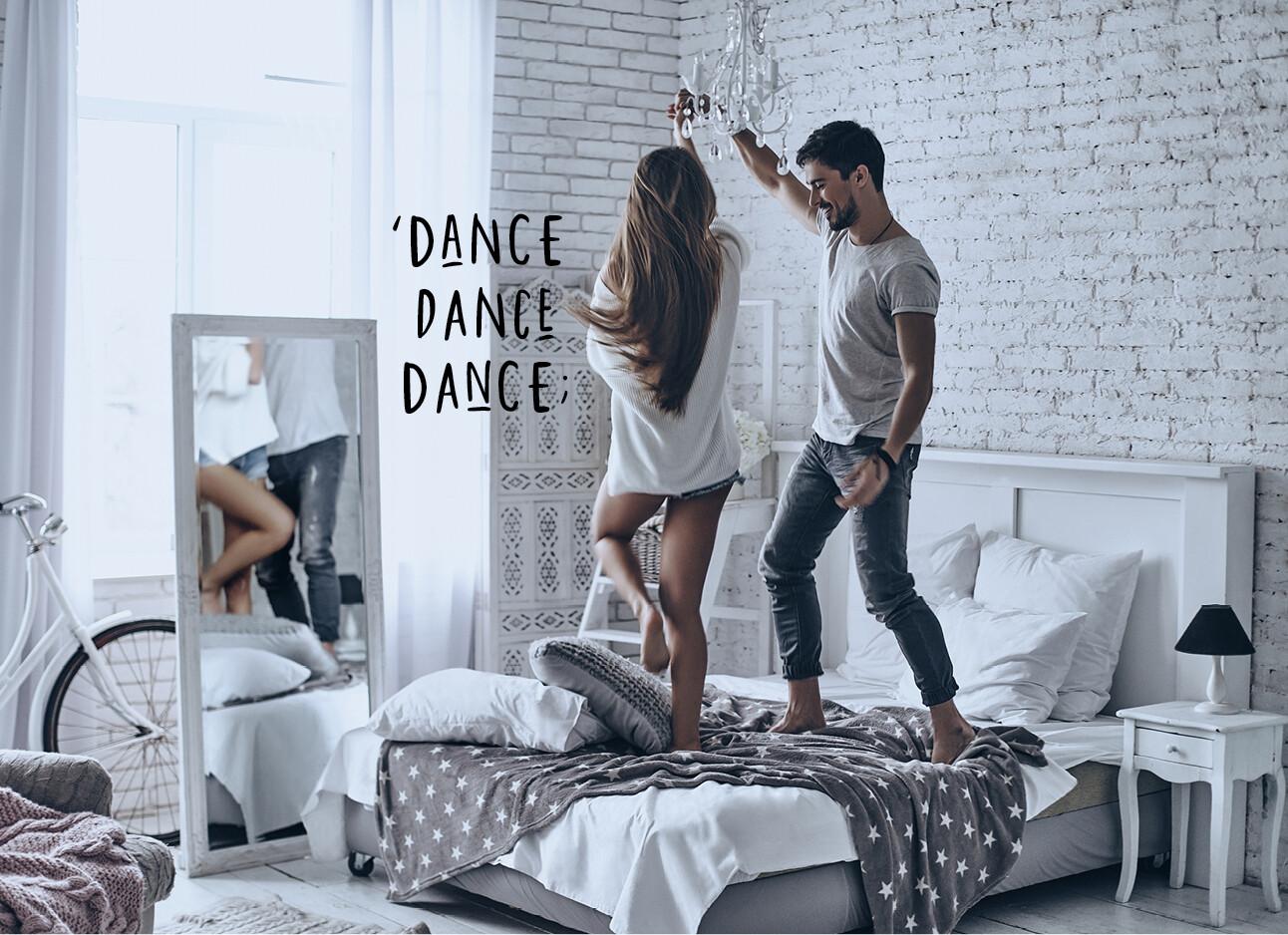 stel dansen thuis
