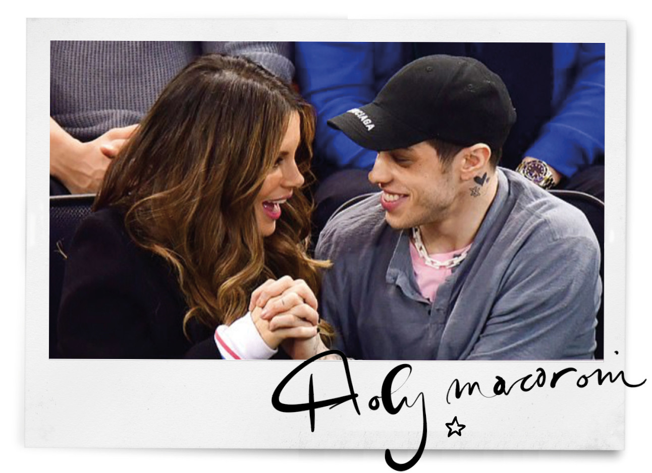 pete davidson and kate beckinsale holding hands