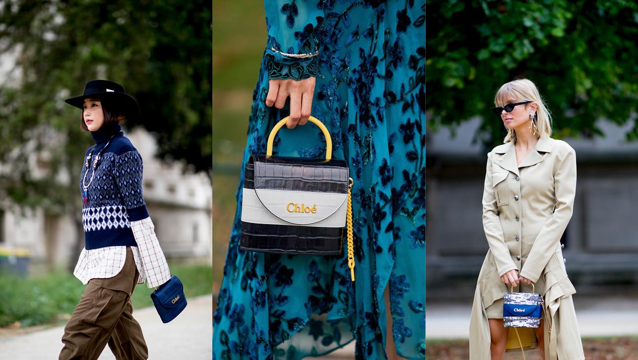 de nieuwe Chloe tas
