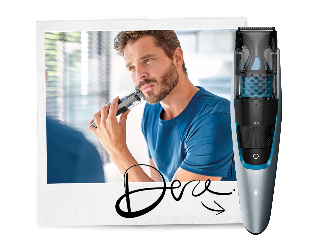 baard trimmer Philips