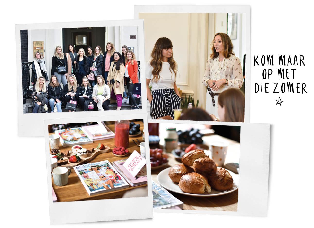 Philips Lumea event op de gracht Met Kiki en Lil en andere lezeressen hapjes drankjes magazine