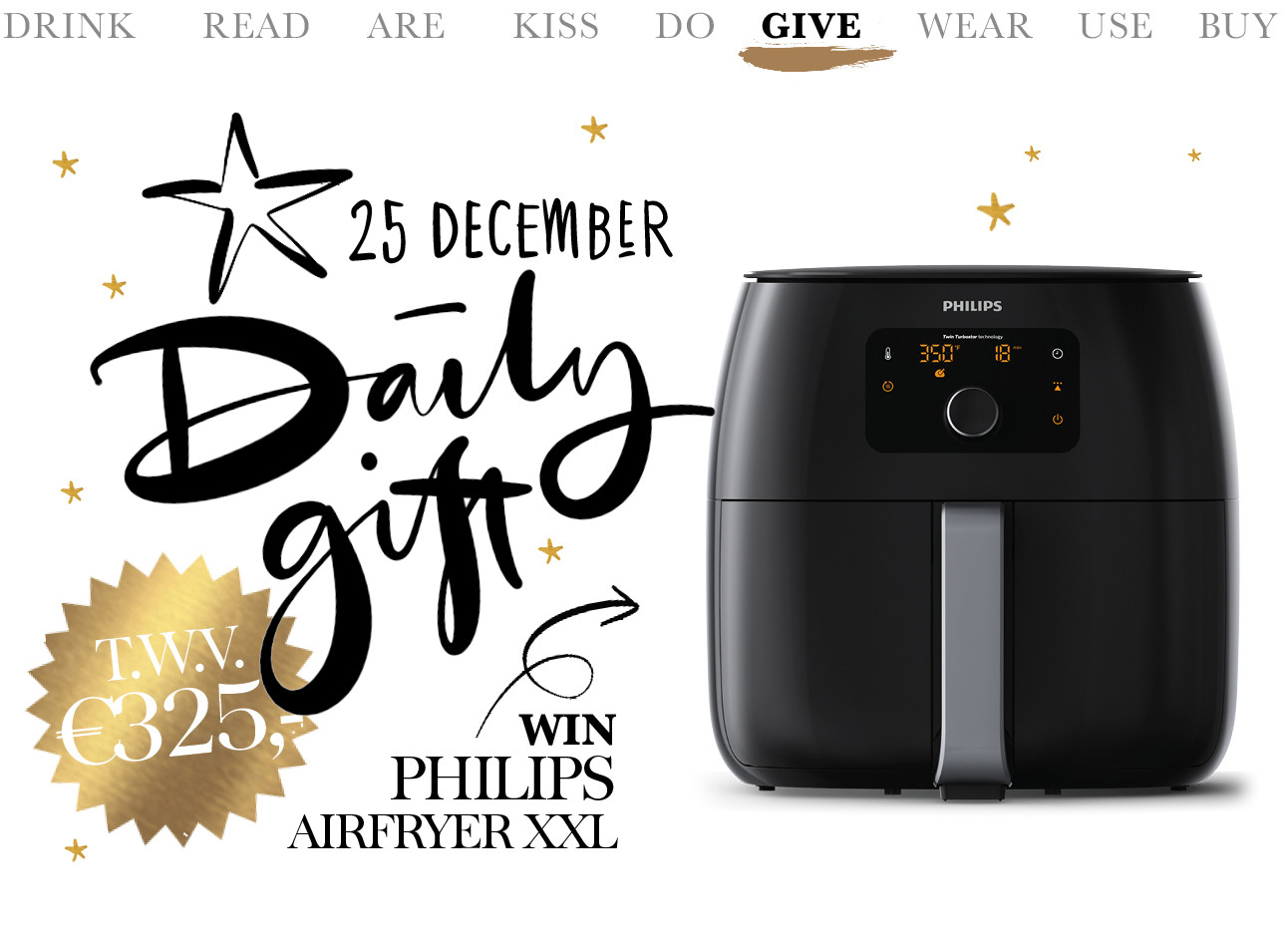 today we give philips air fryer