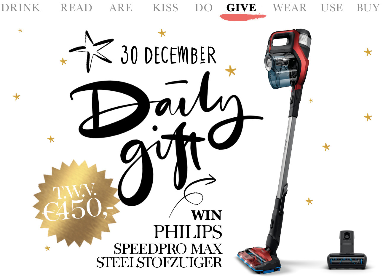 today we give philips speedpro max
