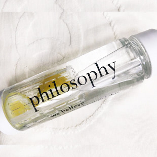 Philosophy waterfles