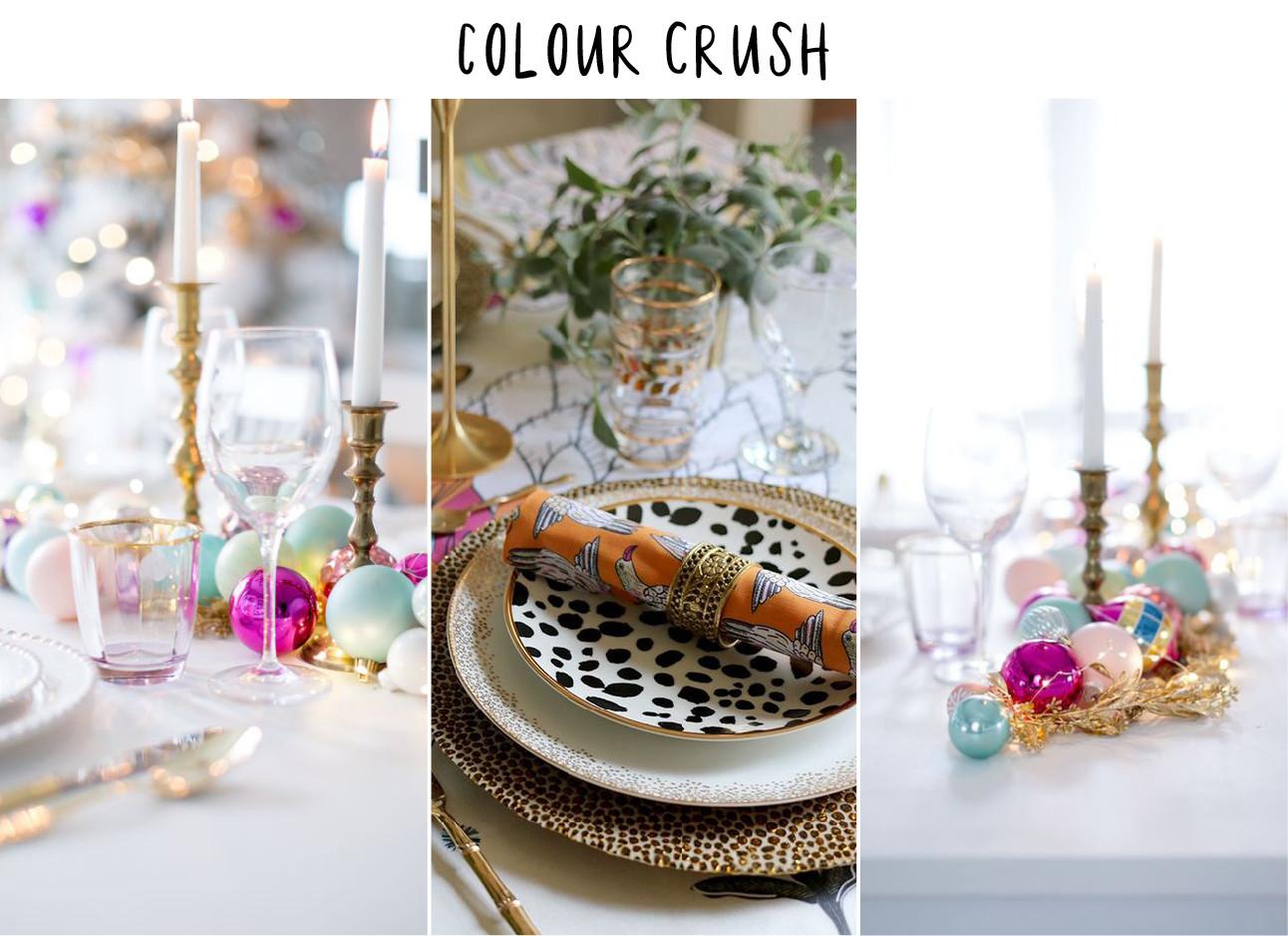 zo dek je je kersttafel als een stylingpro: color crush