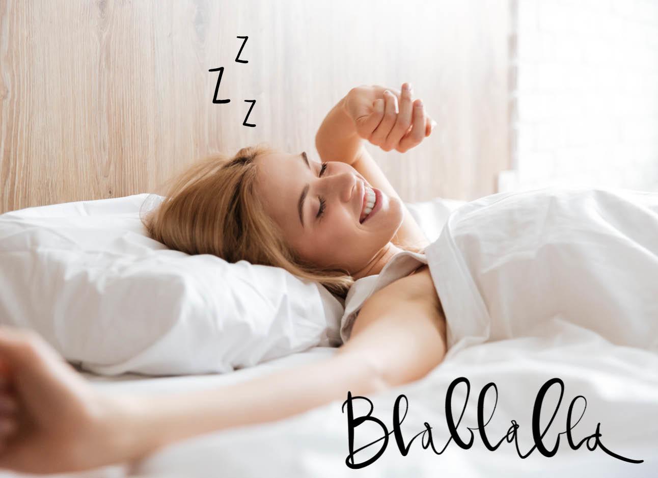 Praten in je slaap