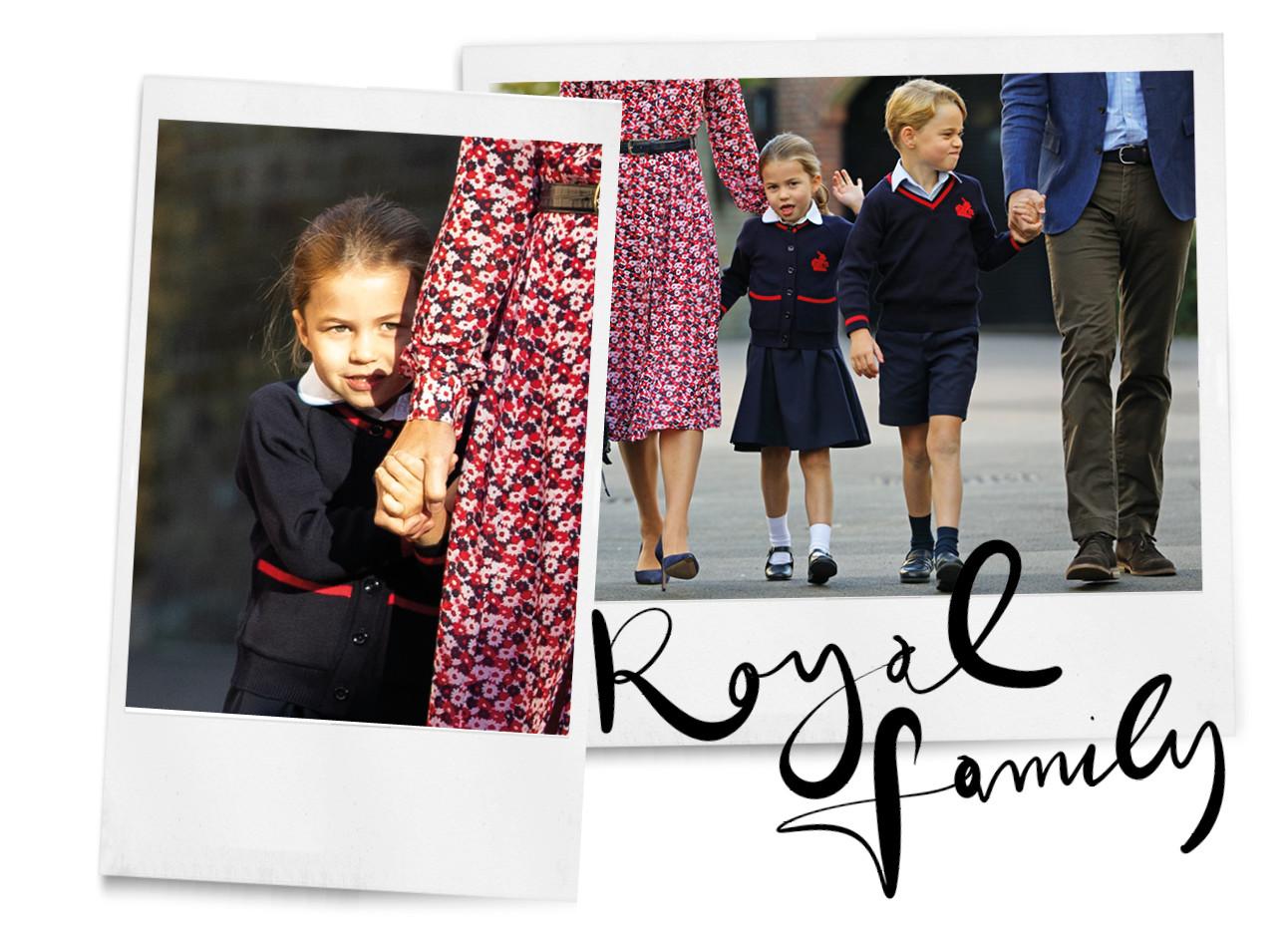 prinses charlotte royal familie engeland