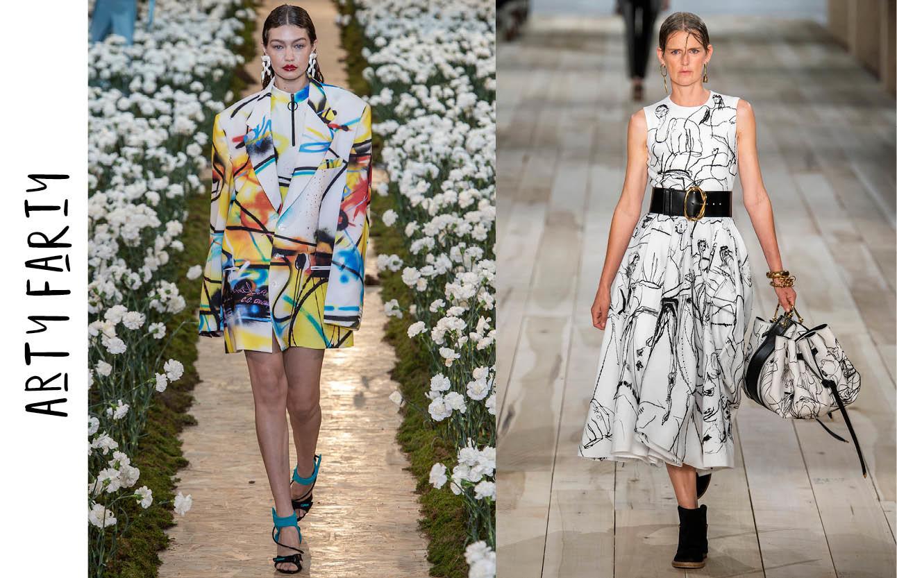 Fashion show prints