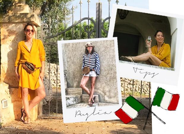 May-Britt Mobach in Puglia
