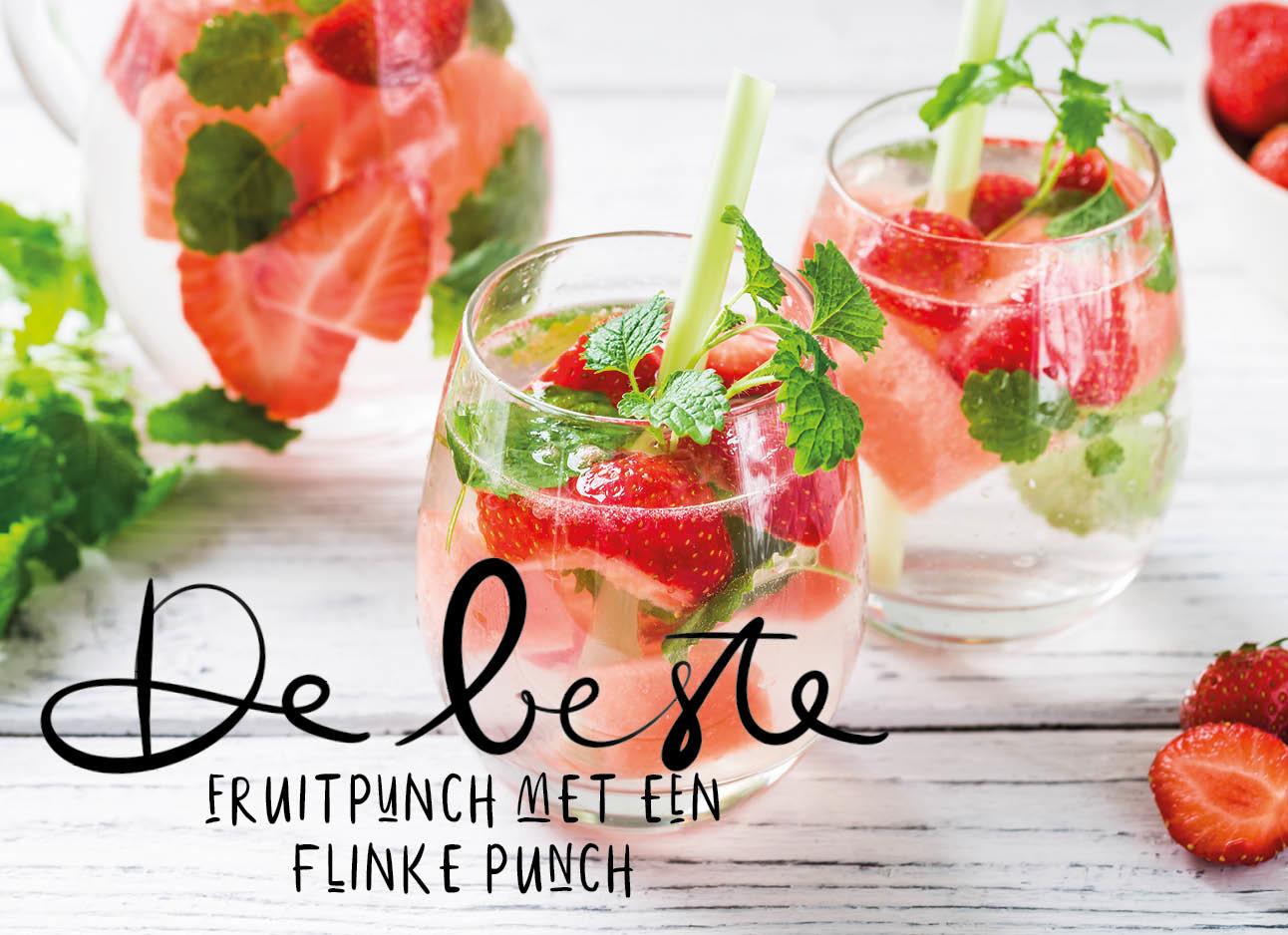 Dit is wat je vanmiddag als borrel wilt drinken Punch bowl