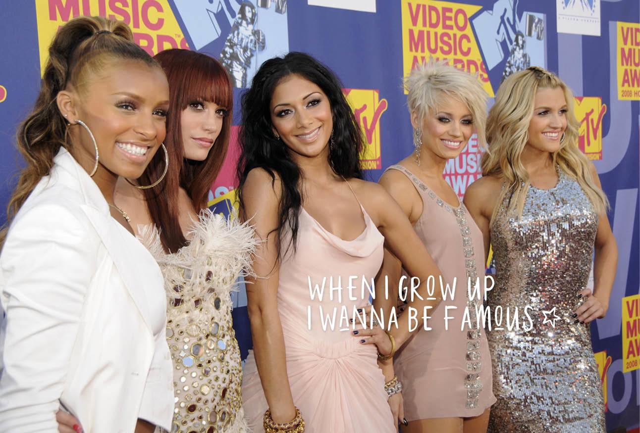 leden van de popgroep the pussycat dolls