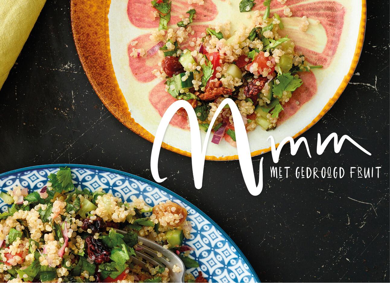 Quinoa + Tabouleh = het allerlekkerst