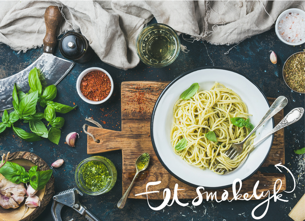 Recept Pasta pesto favorflav