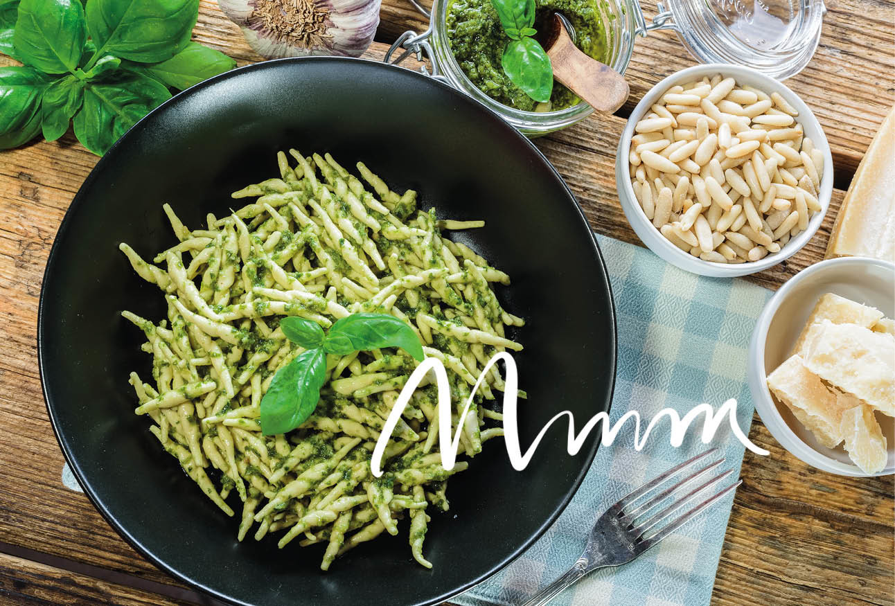 Recept pesto favorflav