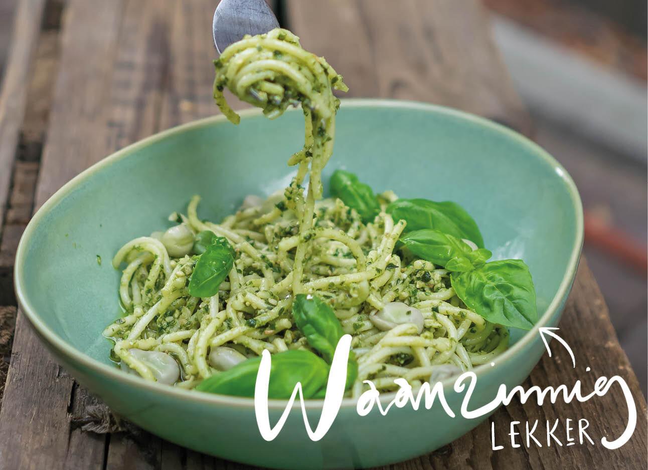 De beste vervanger van pasta met pesto