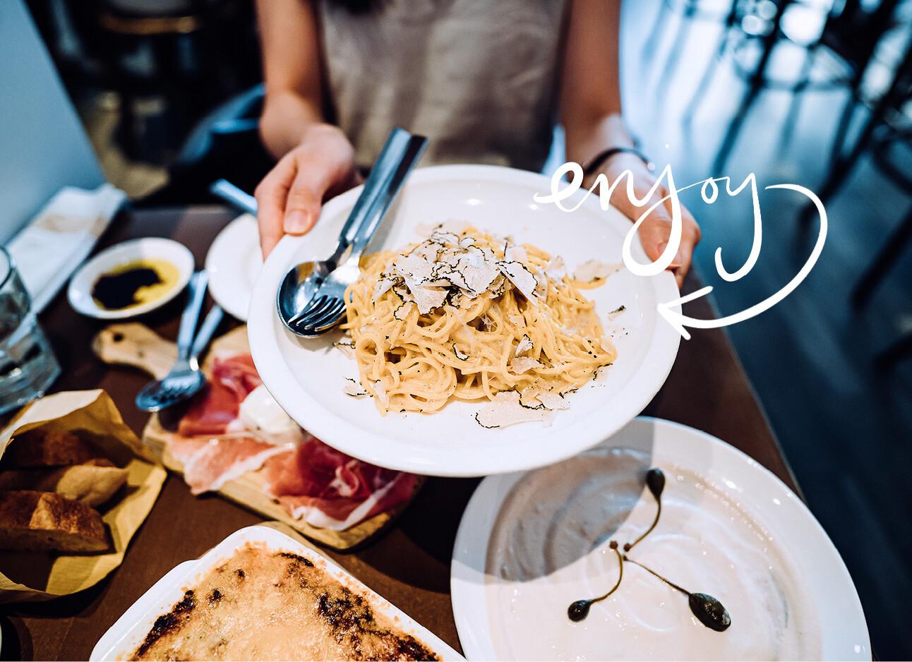 truffel pasta