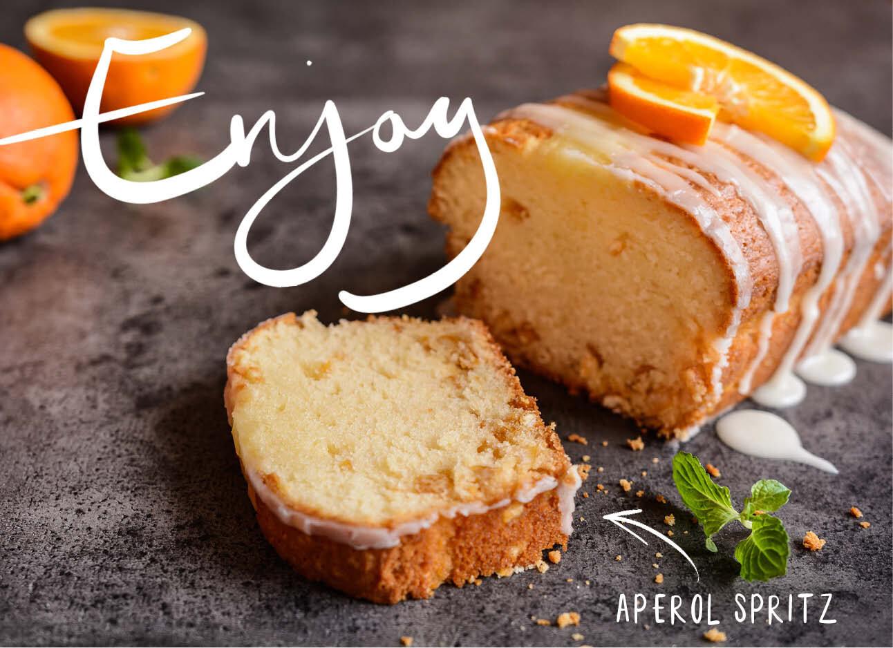 Cake met Aperol Spritz