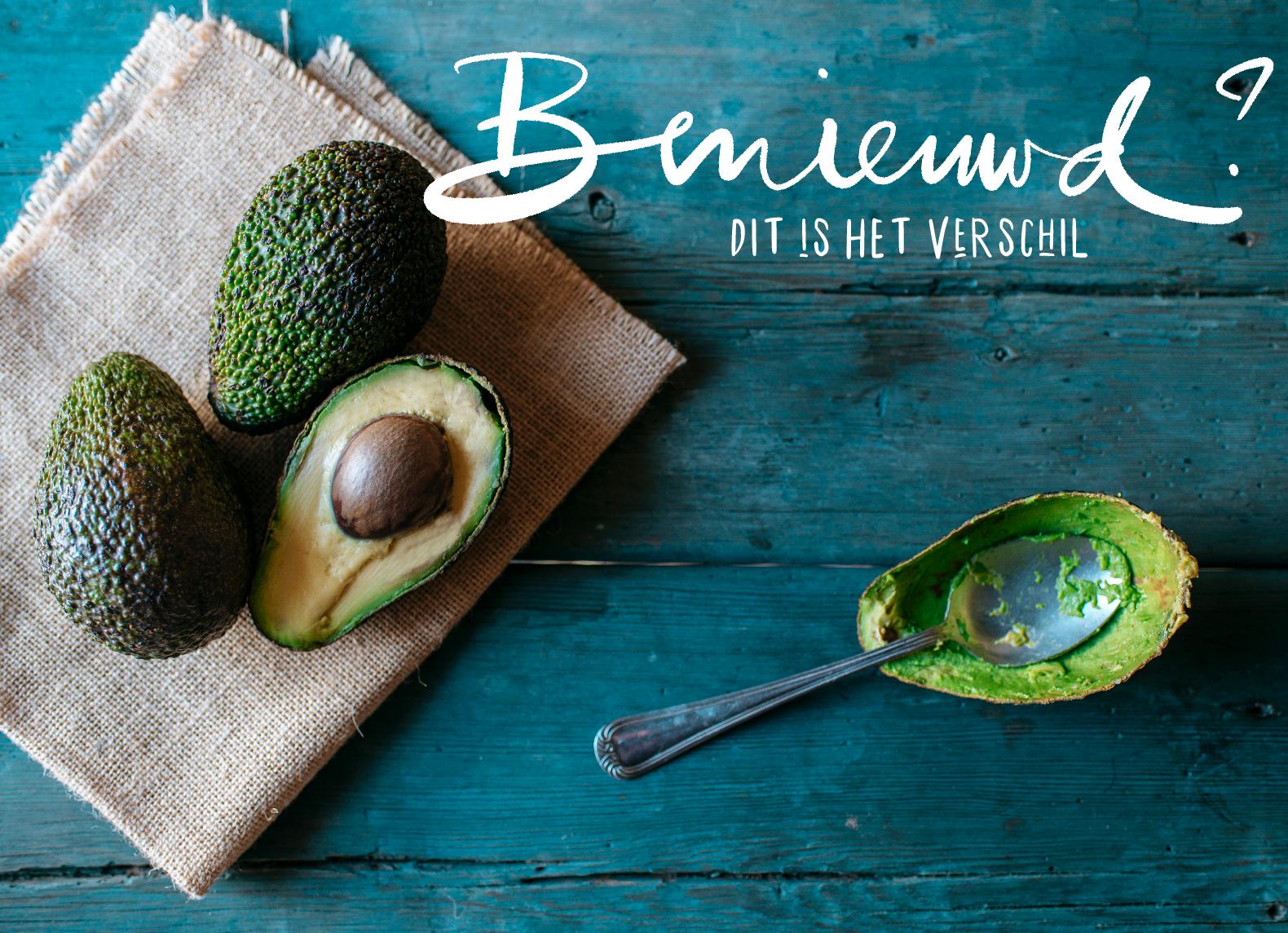 De waarheid achter bruine en groene avocado's