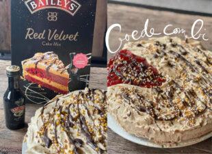 Gewoon uit een pakje: Red Velvet Baileys Cake