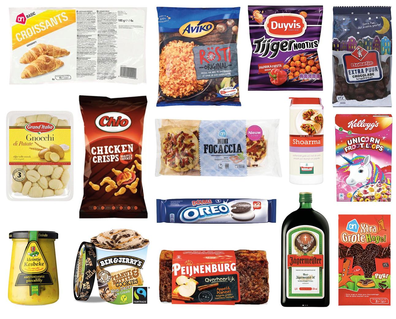 Vegan producten