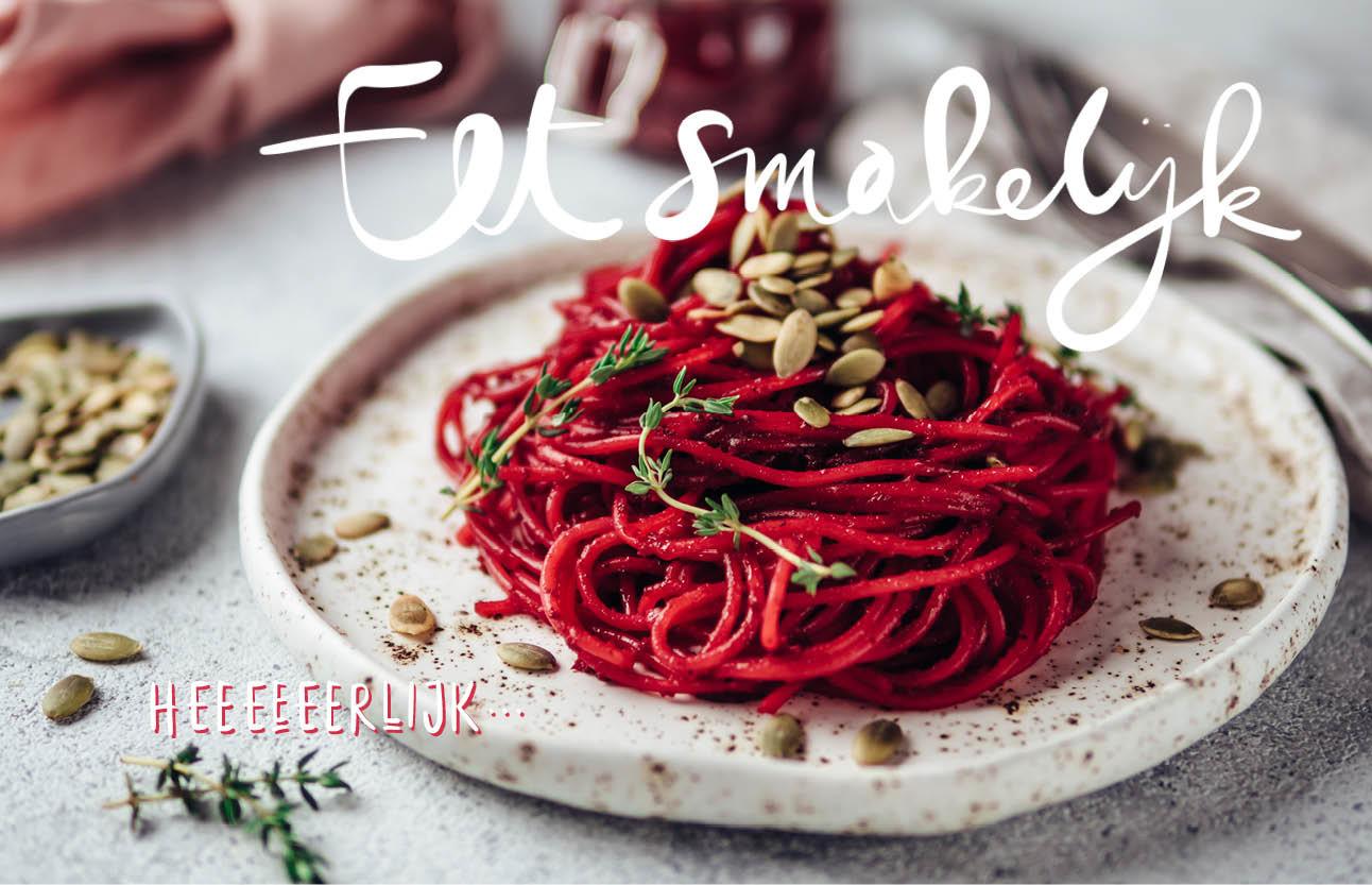 Recept: rode wijn spaghetti