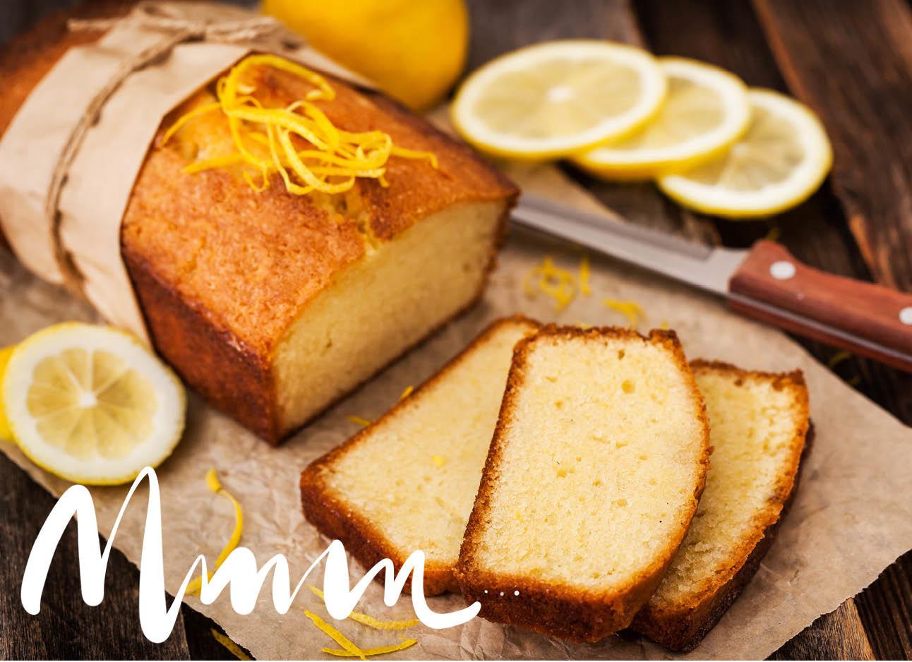 vegan citroencake