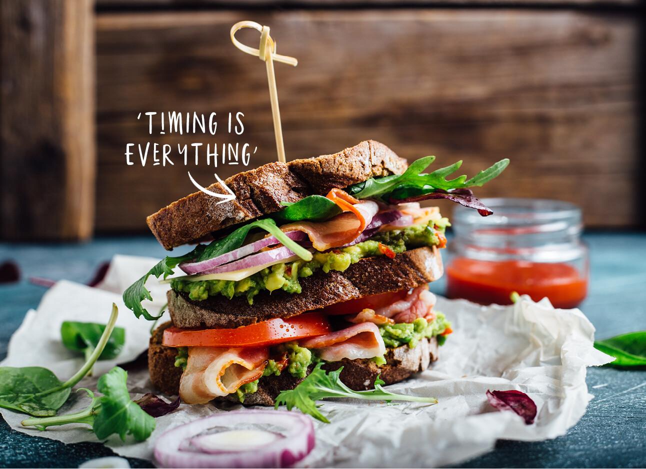 perfecte club sandwich