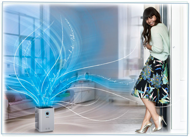 Kiki Duren en de Philips Air Purifier