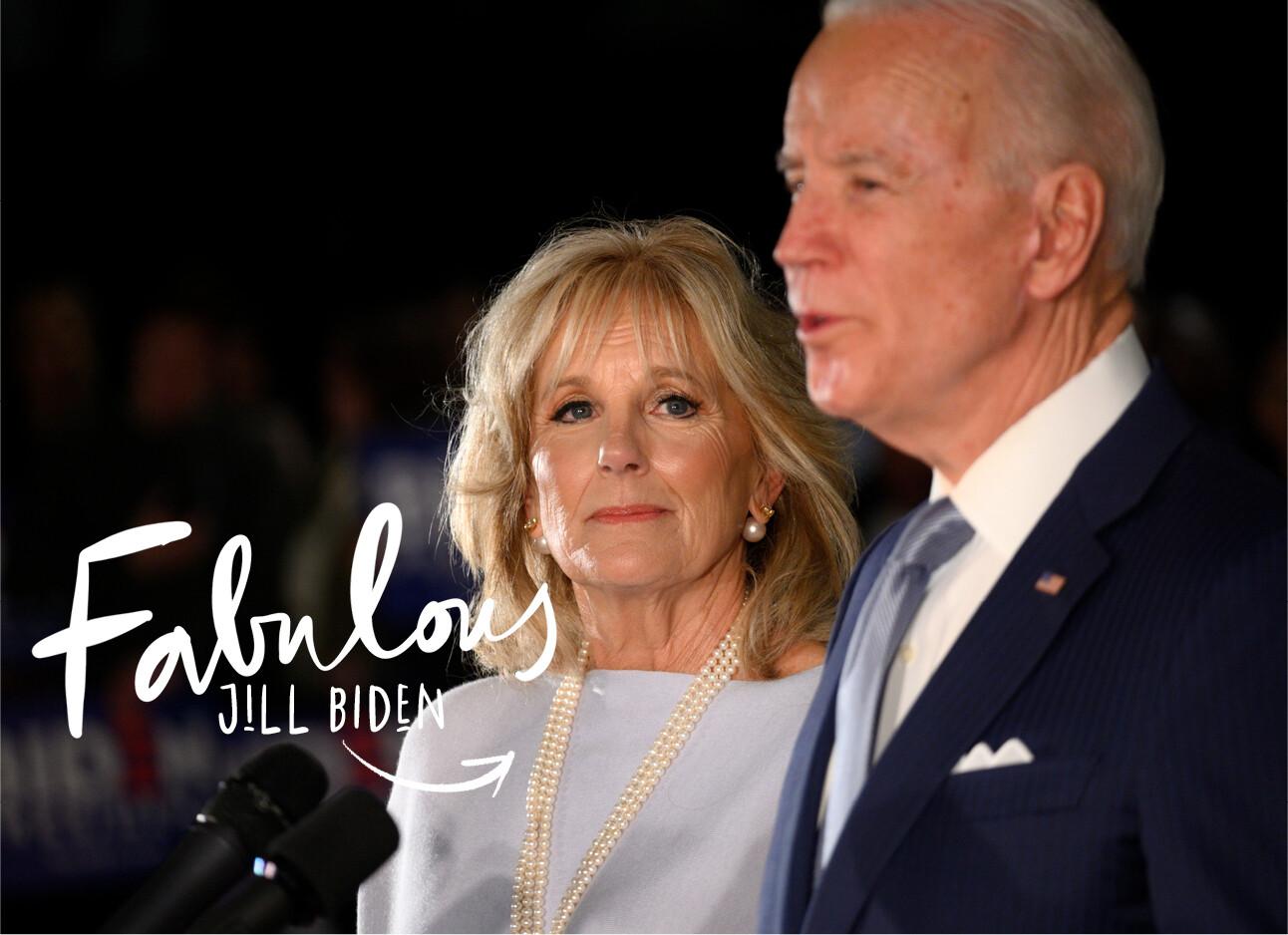 Nieuwe first lady Jill Biden
