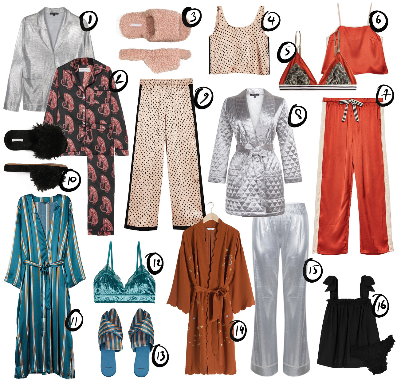 Pyjama shopping