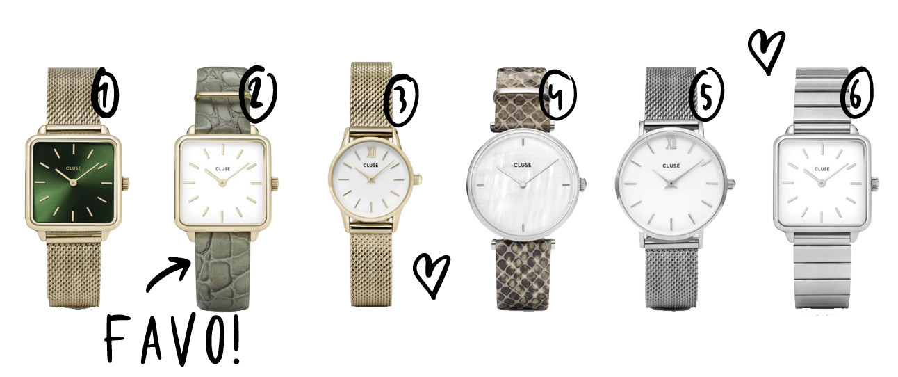 shopping cluse watches, zilver, goud, nieuwe collectie