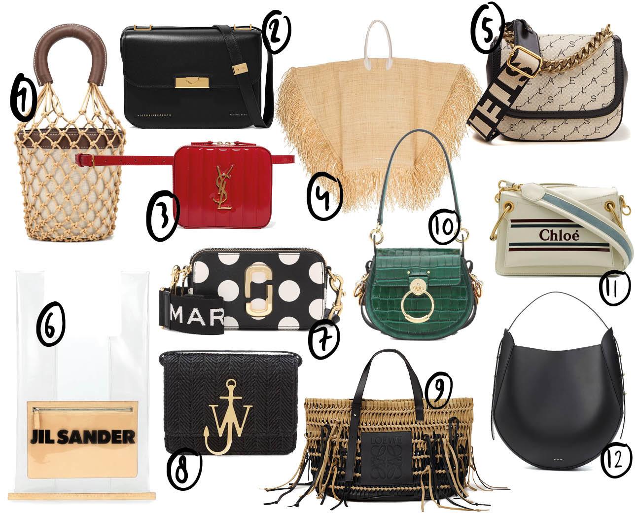 shopping designer tassen in de sale