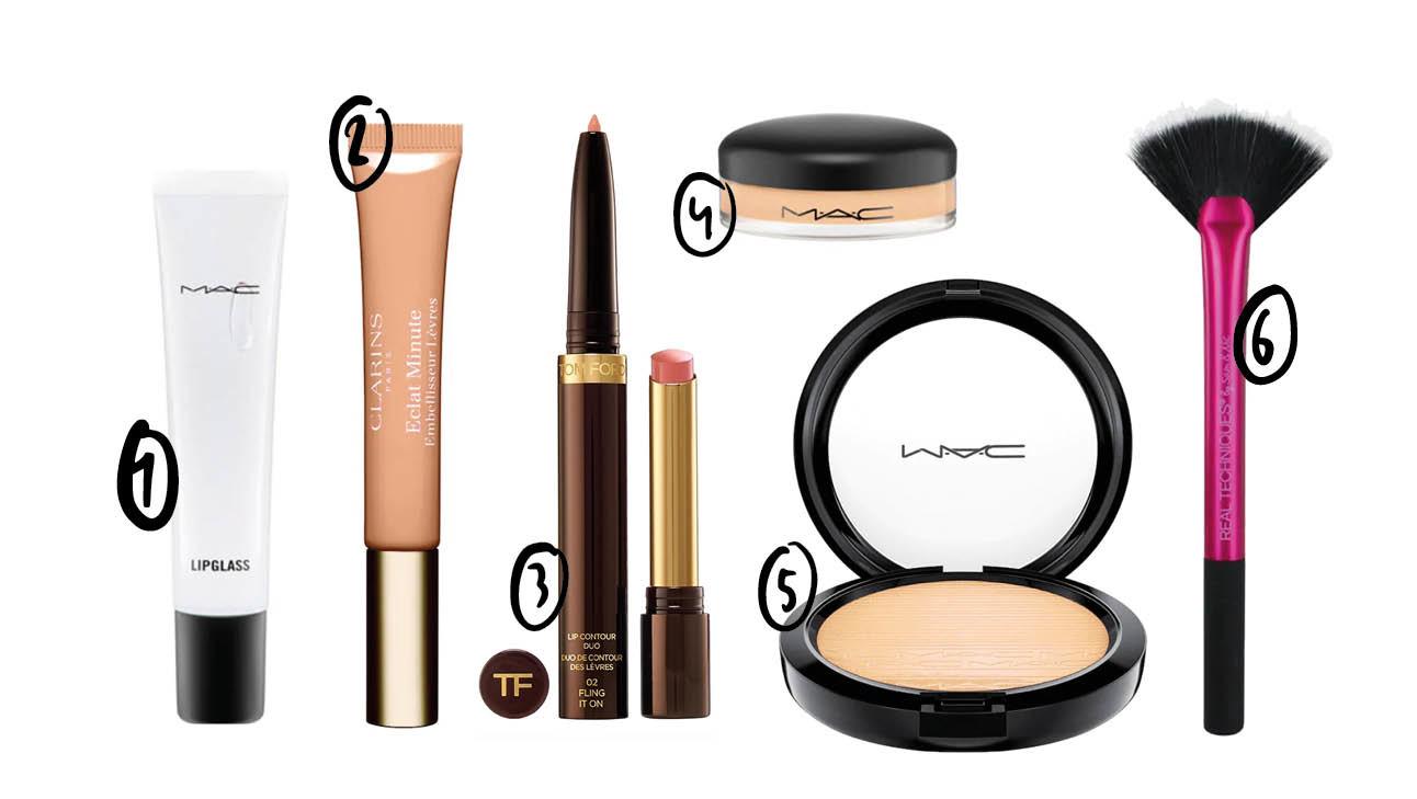 dewy lips mac cosmetics lipglosses highlighter