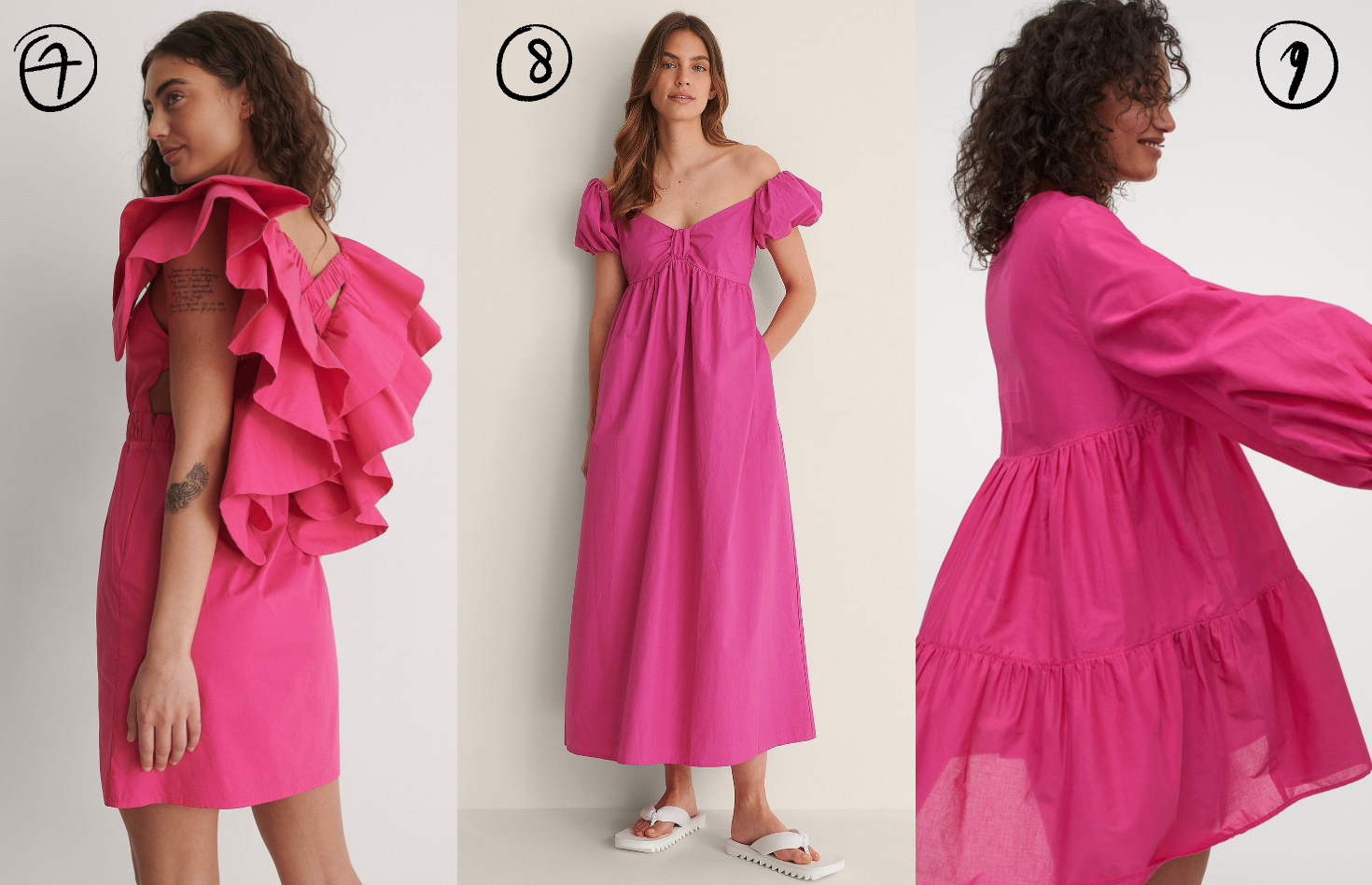 Om ASAP te shoppen: een jurkje in hot pink