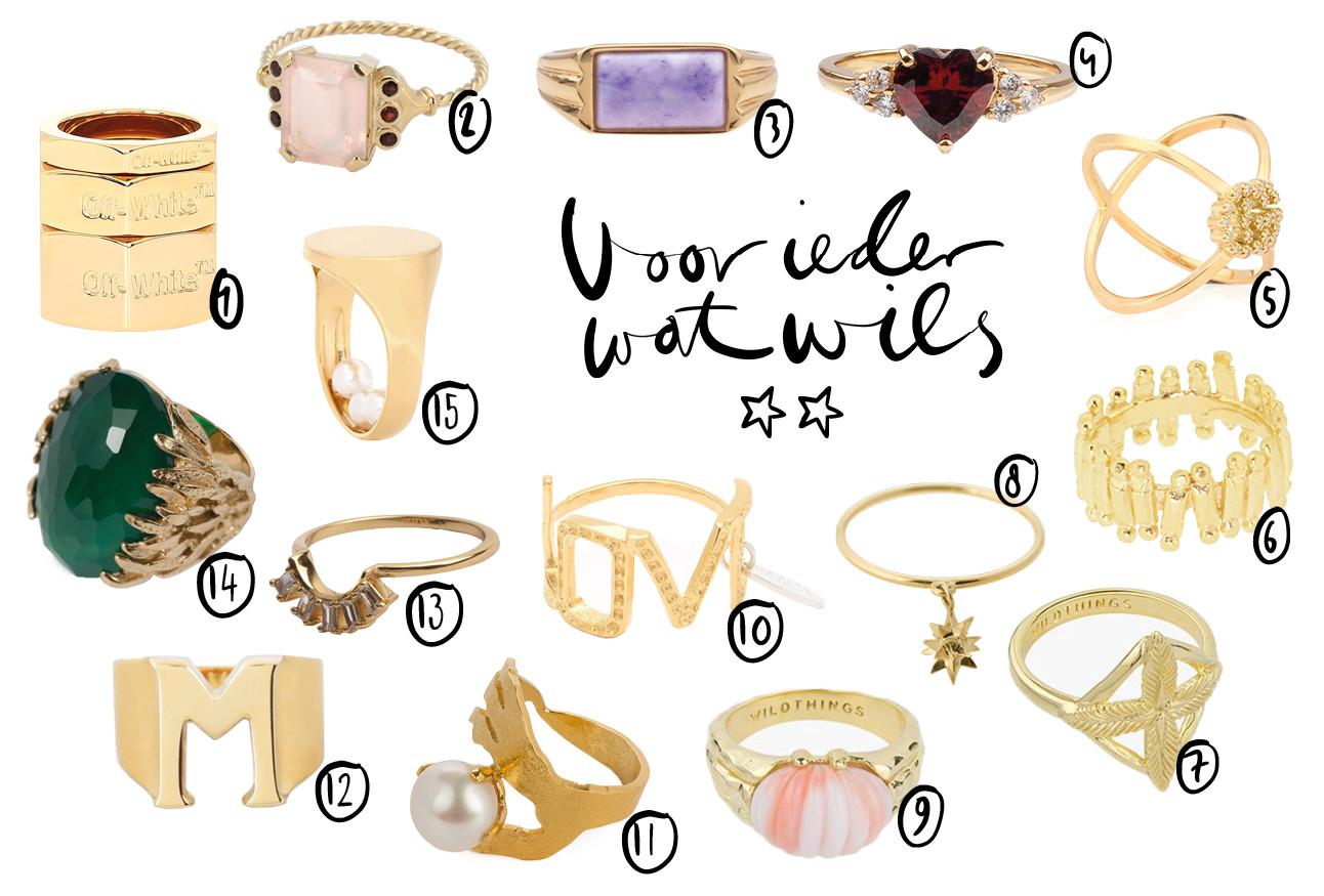 15 shopbare ringen