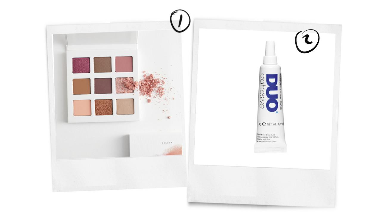 beelden van 2 product die te gebruiken ijn voor de glitters