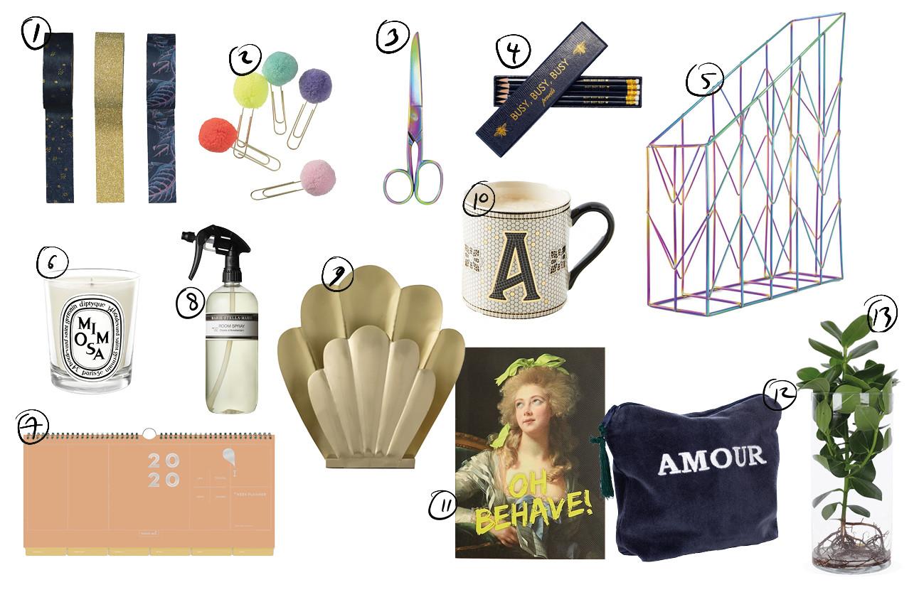 Shopping met verschillende producten