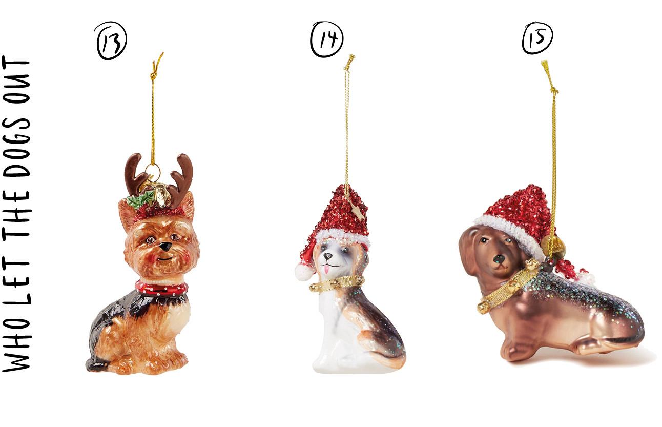 verschillden kerstballen in felle kleuren