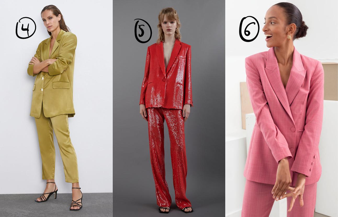verschillende beelden van meiden is nette kleding