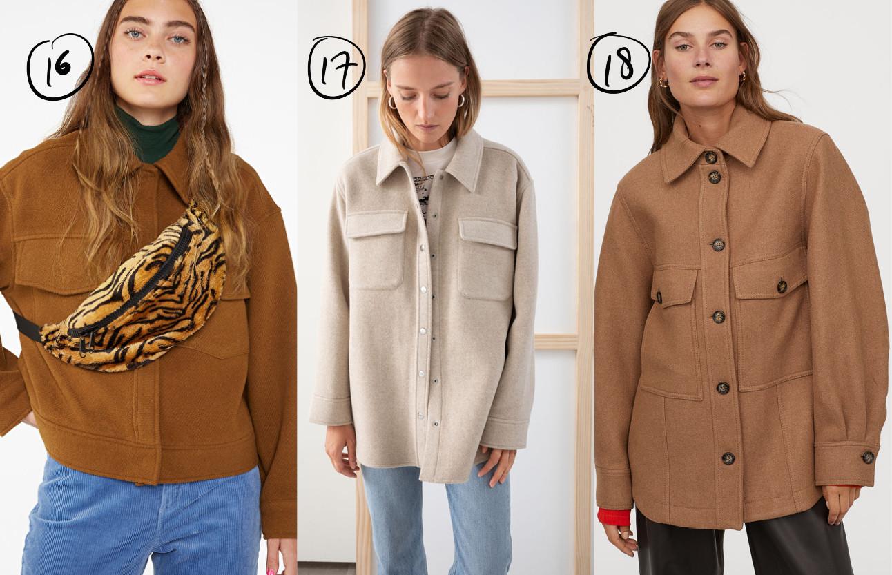 3 meiden die geruiten en wollen jassen dragen