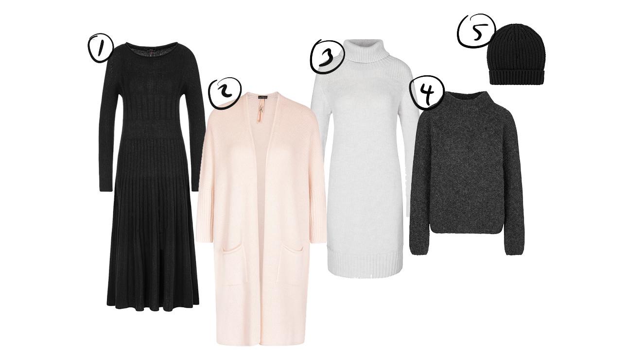een shopping van de nieuwe kleding van marccain
