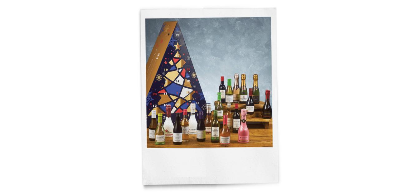 de nieuwe wijn advent kalender van de lidl