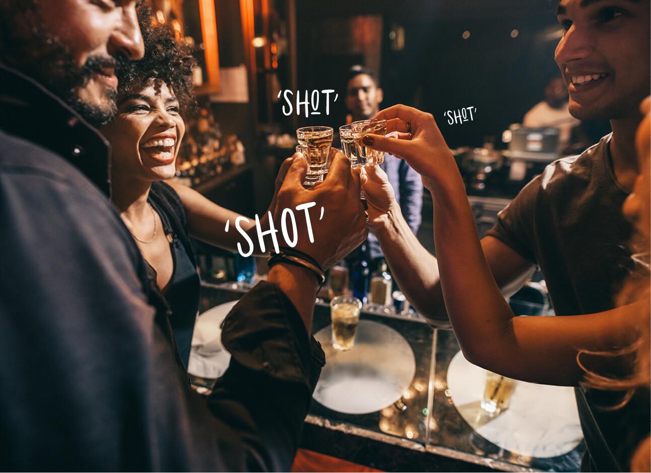 shots drinken