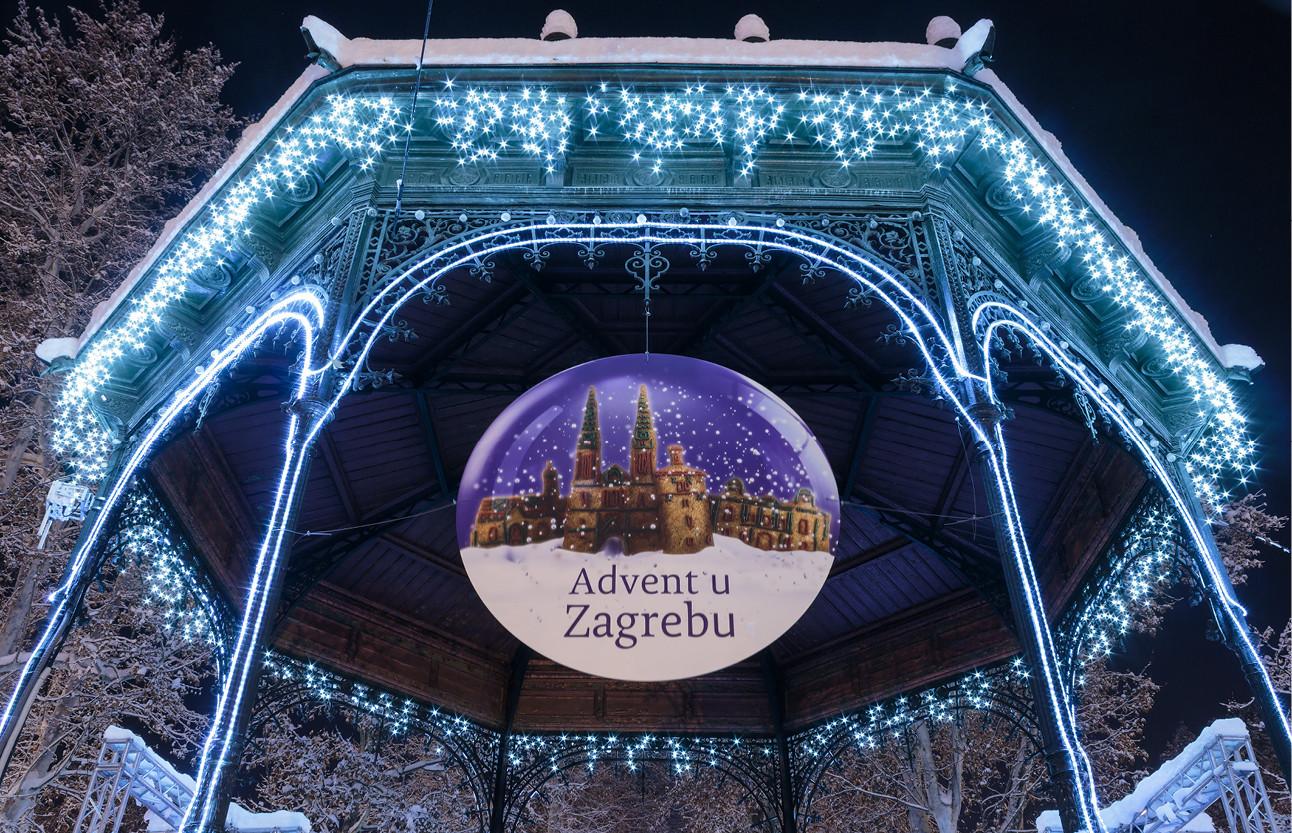 lilian en beelden van de kerstmarkt in zagreb
