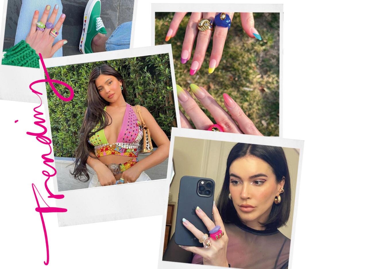 kylie jenner sieraden ringen instagram